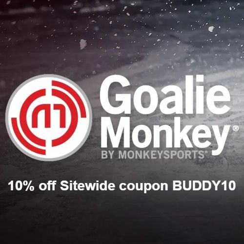 Goalie Monkey Coupon 10 Off Sitewide Code Buddy10 Goalie Goalie Gear Hockey Goalie Gear