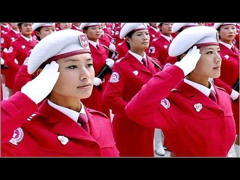 "CHINESE MILITARY FEMALE PARADE TEAM: ""LOS PERUANOS PASAN"""