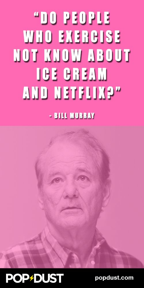 This is why #BillMurray is the sage of our time...