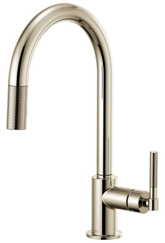 Brizo 63043lf Pn Litze Kitchen Faucet
