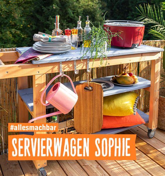 Servierwagen Sophie Create By Obi Servierwagen Grilltisch Esszimmerkonsole