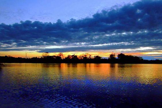 Amanhecer na Amazonia