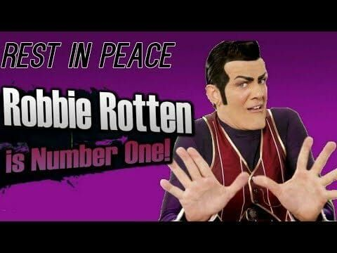 Rip Robbie Rotten We Are Number One One Last Time We Are Number One Robbie Rotten Funny Meme Pictures