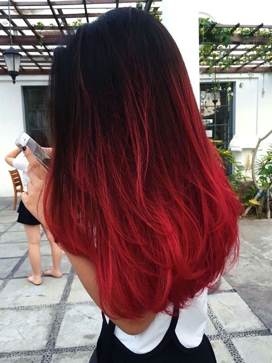 © jennifer wizzar | red ombre hair #RedOmbreHair - #hair #jennifer #Ombré #Red #RedOmbreHair #wizzar