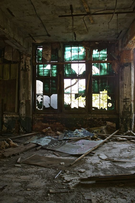The Packard Auto Plant a lifetime ago. Abandoned Detroit: Exploring the Largest Abandoned Site in the World. http://cherylhoward.com/2013/10/12/packard-automotive-plant/
