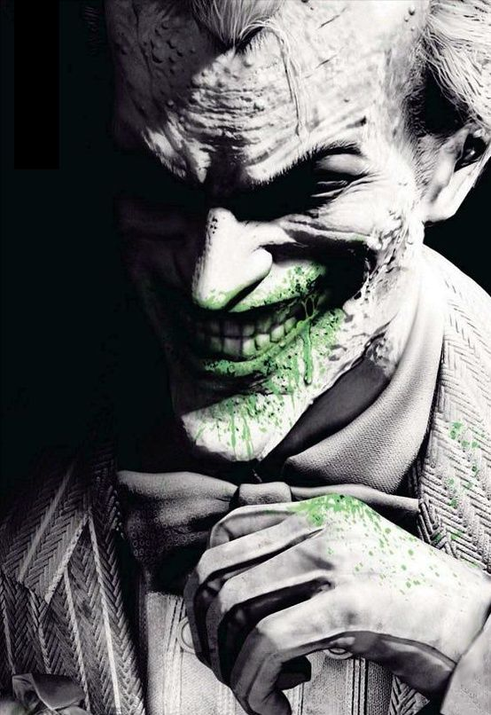 Such a great image of The Joker. Love it!: