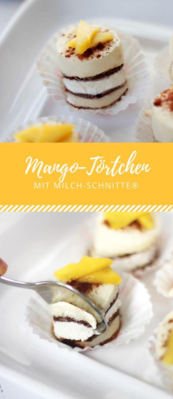 5 Mango-Törtchen mit Milch-Schnitte®