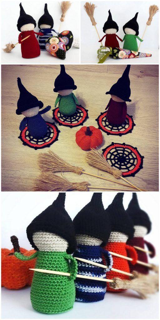 Great Halloween Amigurumi Free Crochet Patterns | 1024x512