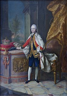 Archduke Maximilian Francis of Austria Born: December 8, 1756 Death: July 26, 1801 Aged:44  Plagued by ill health, he took up residence in Vienna and remained there till his death.