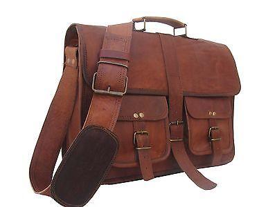 Aktentasche Umhängetasche Lehrertasche Schultasche Leder Tasche vintage spitze