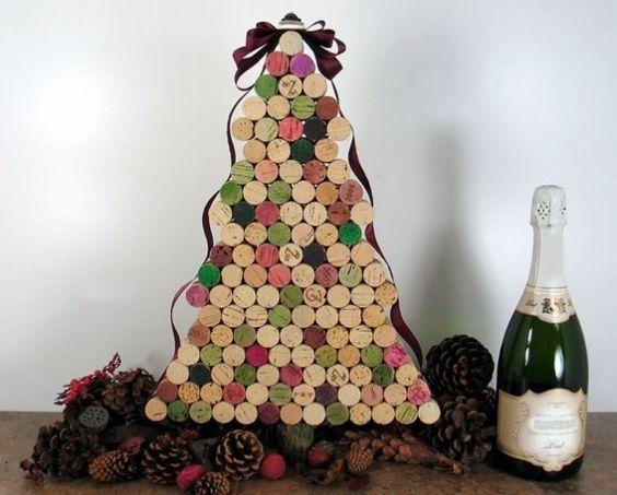 Alberi di Natale con il riciclo creativo