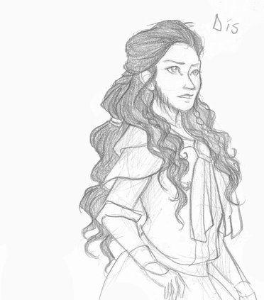 Dis, Thorin's sister, Fili and Kili's mother.