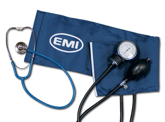 PROCUFF™ SPHYGMOMANOMETEREMI Introduces its Procuff™ Sphygmomanometer that is not only economical but dependable. The Procuff™ features: • Black enamel 300mm Hg no-pin stop manometer accurate to ± 3mm Hg. • Navy blue cuff with range markings to indicate the selection of correct cuff size • Artery label and gauge holder markings • Latex inflation bladder and bulb • Chrome-plated air deflation valve • Comes complete with leatherette zippered carrying case and instruction manual • 10 year ...