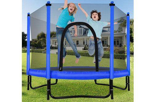 Top 10 Best Indoor Trampolines With Enclosure For Kids Toddlers In 2020 Indoor Trampoline Trampoline Kids Trampoline