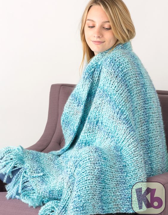 Loom Knit Afghan Patterns : Quiet moments, Afghans and Free pattern on Pinterest