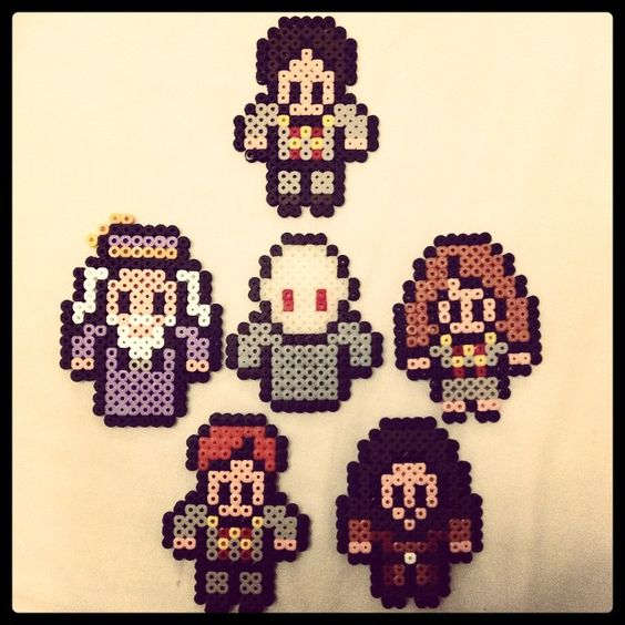 Harry Potter perler beads by itsalice