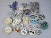 Persian Minai ceramics.