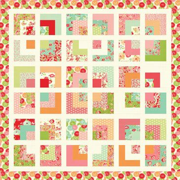Square Root Quilt Pattern