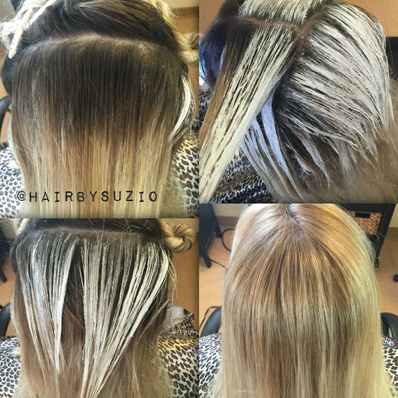 Before And After Balayage Root Re Touch Hair By Suzi O