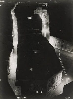 Otto Umbehr, Night in a Small Town, 1930
