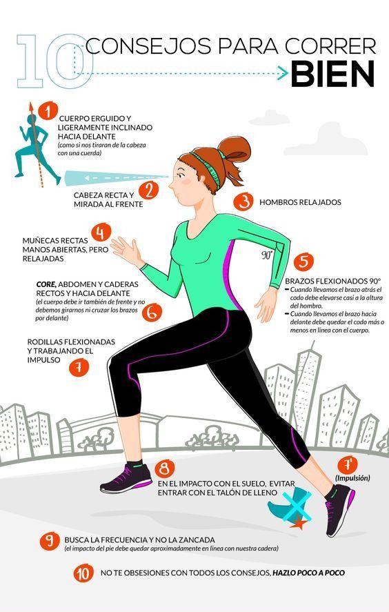 forma correcta de correr para adelgazar