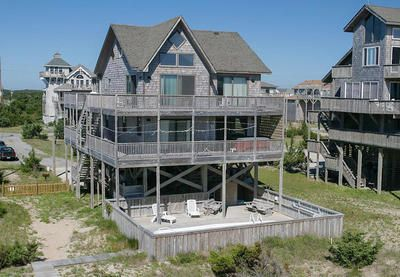 AVON Vacation Rentals | Dream Gables - Oceanfront Outer Banks Rental | 403 - Hatteras Rental