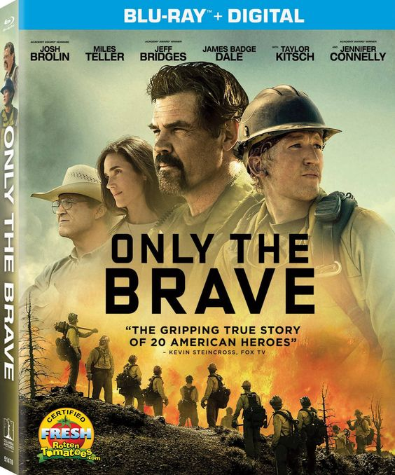 ONLY THE BRAVE BLU-RAY (SONY PICTURES)
