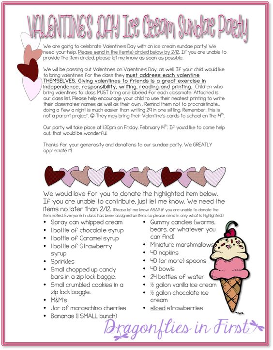 Free Valentines Party Flyer Valentins Day Party Letter