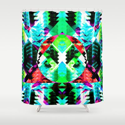 MAGNETIC SERVICE Shower Curtain by Chrisb Marquez - $68.00