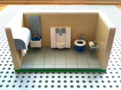 Tutorial Lego Public Bathroom Cc Youtube Leggerz