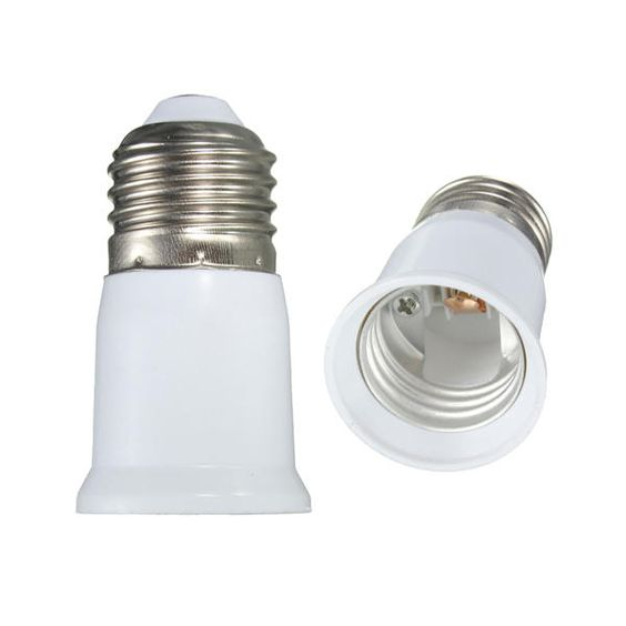 Screw E27 To E27 Light Bulb Extender Adaptor Lamp Converter Holder E27 Light Bulb Light Bulb Bulb