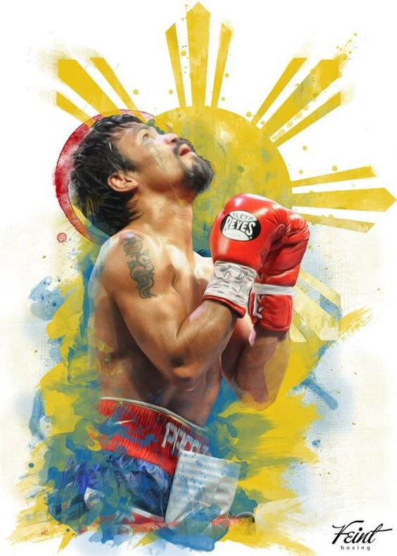 Manny Pacquiao is one my favourite fighters of all time. His story is something else. A true great and inspiration.