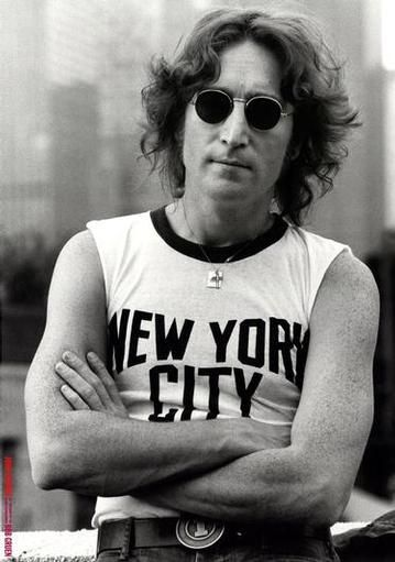 """John Lennon. He believed in peace and love and harmony. Just listen to the lyrics in """"Imagine""""."""