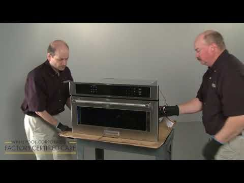 Video How To Install A Built In Microwave Product Help