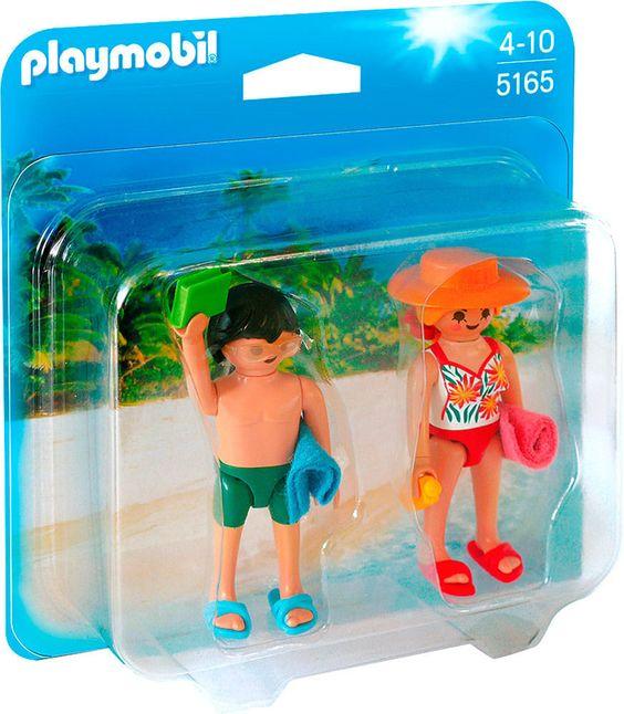 PLAYMOBIL 5165 Duo Pack Bañistas   NUEVA SERIE AQUAPARK