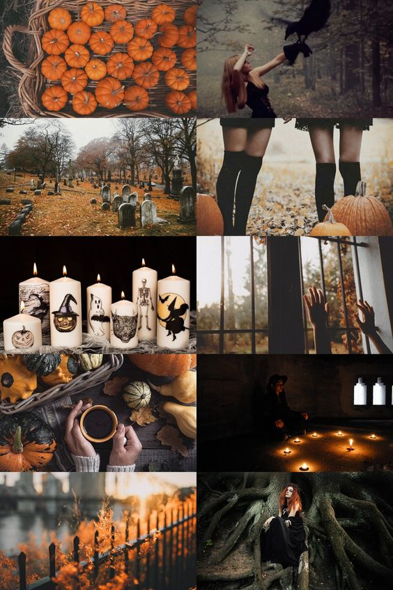 halloween witch aesthetic
