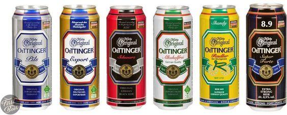 các loại bia Oettinger đang bán tại TPHCM