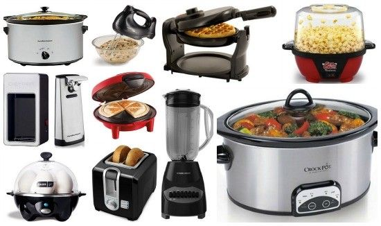 Thinking About All The Different Appliances Newly Weds Will Use In
