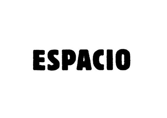 ESPACIO ロゴタイプ