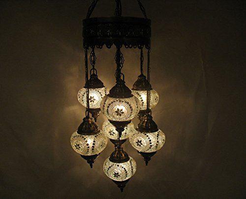 7 ball white mosaic hanging glass chandelier candle holde... http://www.amazon.com/dp/B01EXN0BGM/ref=cm_sw_r_pi_dp_lcvtxb01SSVPT