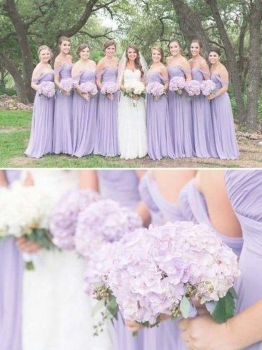 Cheap Lavender Off The Shoulder Long Bridesmaid Dresses Bw0387 Brides Lavender Bridesmaid Dresses Lavender Bridesmaid Dresses Long Pretty Bridesmaid Dresses