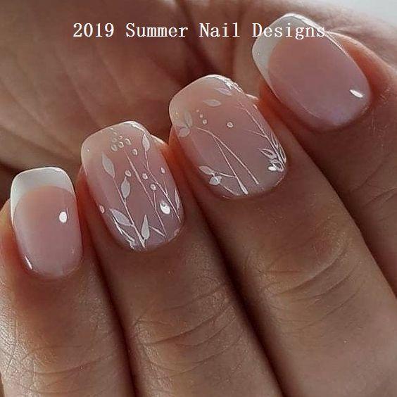 33 Cute Summer Nail Design Ideas 2019 Summernaildesigns