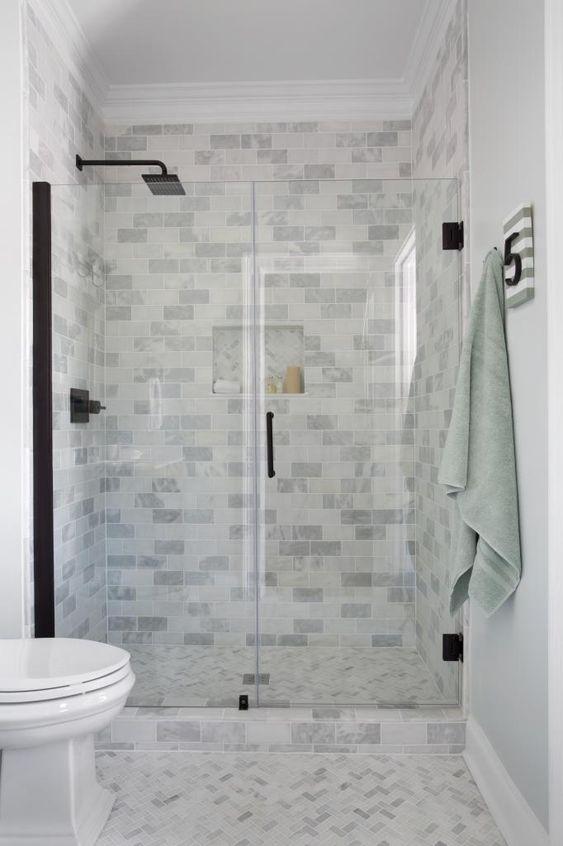 Shower Doors Shower Tiles And Glass Doors On Pinterest