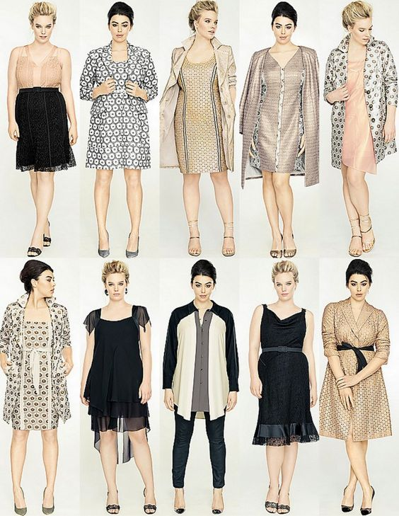 Isabel Toledo Collection for Lane Bryant (third on the bottom is my favorite)