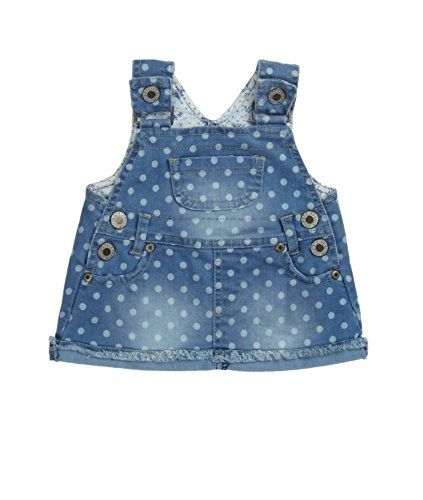 Steiff Baby - Mädchen Rock Latz Jeans, Gepunktet, Gr. 62, Blau (light blue denim 0014) Steiff http://www.amazon.de/dp/B00QTBN6AK/ref=cm_sw_r_pi_dp_7H41vb0SG3WV6