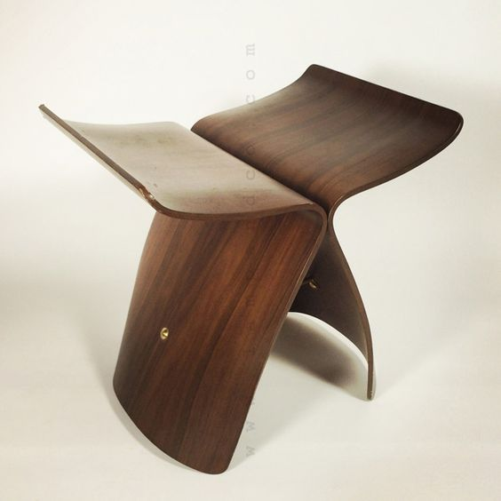 Butterfly stool by Sori Yanagi.