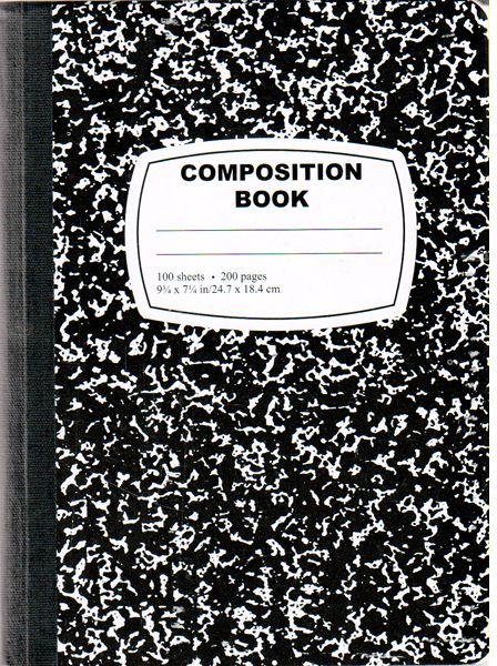 Image result for composition notebook