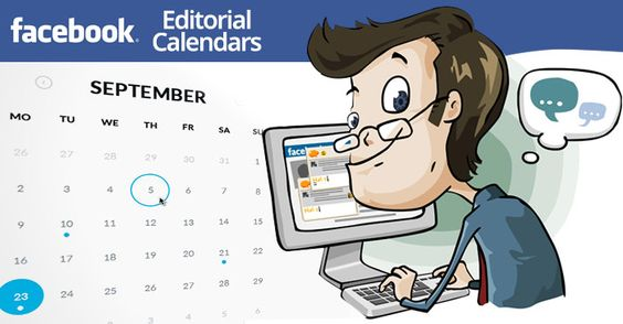 How To Implement An Editorial Calendar For Your Facebook Page - editorial calendar template