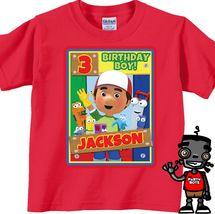 Personalized Handy Manny Birthday Shirt