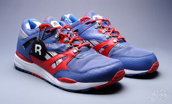 Reebok has teamed with Marvel to release some awesome limited edition shoes. /// Captain America
